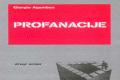 "Giorgio Agamben: ""Profanacije"""