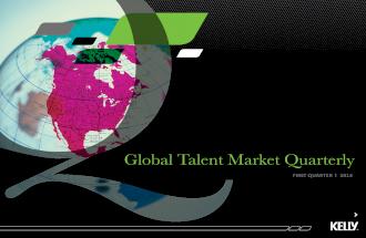 Q1 2014 - Global Talent Market Quarterly