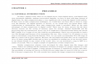 jpeg image compression using DCT
