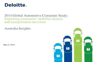 2014 Global Automotive Consumer Study - Australian Insights