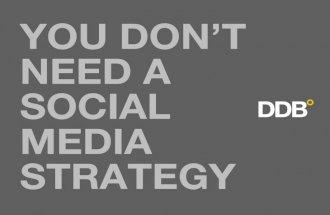 You Don't Need a Social Media Strategy (Washington DC Edition)