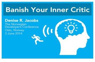 Banish  Your Inner Critic -  NDC Oslo